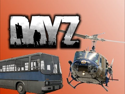 DayZ with Drift0r - Chopper Battle, Bus Party,ATV Joyride, and Aussie Gamers!!!