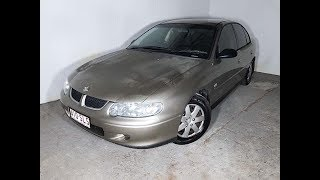 (SOLD) Cheap Automatic Holden Commodore Acclaim Sedan 2001 with Rego & RWC Review