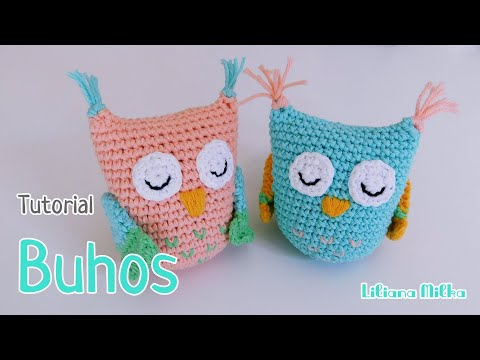 Crochet Basics 124 K.Jolie Free Chubby Owl Part 1 Pattern Kawaii ... | 360x480