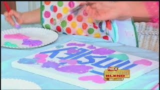 Kids Corner: Painter's tape name art