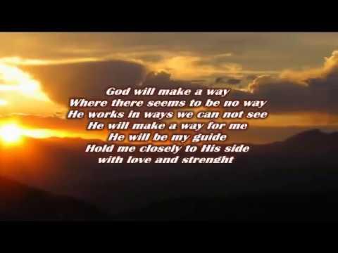 Moen Doen God Will Make A Way Karaoke Download Free Mp3 ...