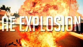 Beautiful Realistic Explosion | After Effects CS6 Tutorial