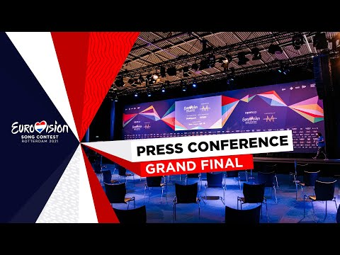 Eurovision Song Contest 2021 - Grand Final - Press Conferenc