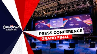 Eurovision Song Contest 2021 - Grand Final - Press Conference