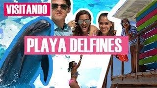 CONOCIENDO PLAYA DELFINES EN CANCUN 2/4