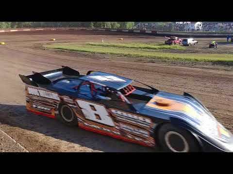 Peoria Speedway 8-12-17 sblm heat 1 Matt Murphy