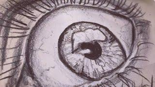 Practising Drawing Eyes || Sketchbook Diaries Ep:1 || Katy Groves - MissKateMonroe.co.uk