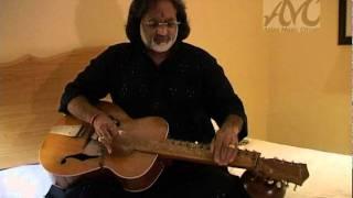 Vishwa Mohan Bhatt, a slide guitar player
