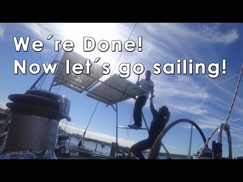 We´re done! Now let´s go Sailing!