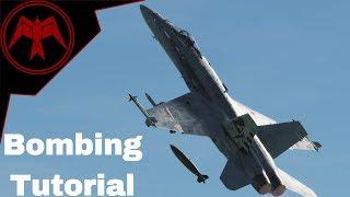 DCS F/A-18c Hornet LOFT, AUTO and CCIP bombing Tutorial