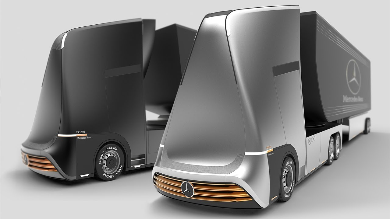 Mercedes-Benz Euro X Future Truck Concept