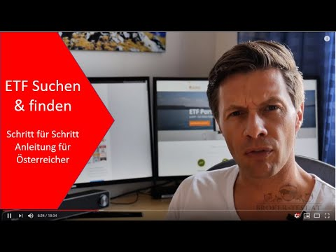 Den richtigen ETF finden: ETF Suche & finden für Österreicher in der Praxis
