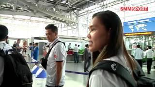 นักวอลเลย์บอลหญิงทีมชาติไทยไปเก็บตัวที่จีน