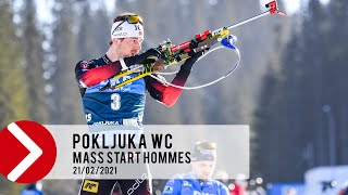 MASS START HOMMES - POKLJUKA WC 2021