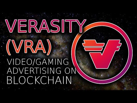 WHAT IS VERASITY? (VRA) | VIDEO ADVERTISING ON BLOCKCHAIN ⛓📺