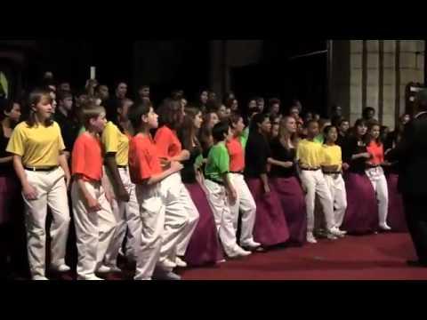 Laduma (It Thundered) Colorado Children's Chorale and Pro Cantu