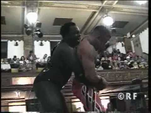 ICW presents Xavier vs Prince Nana at the Elks Lodge in Queens NY part 1/3