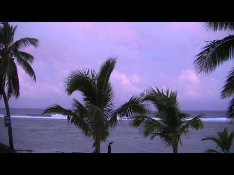 Cooke Islands Storm