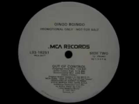 Oingo Boingo - Out Of Control  (Outer Control Dub)