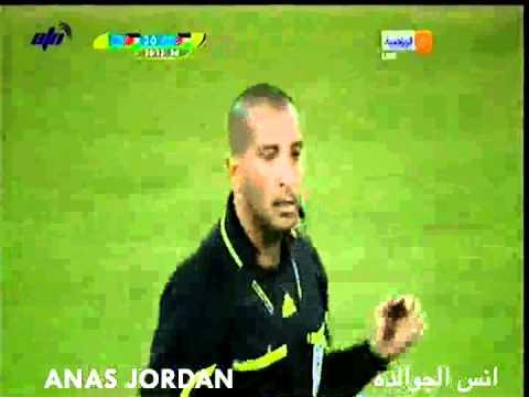 الاردن 4-1 فلسطين الدورة العربية 2011 - الشوط الاول