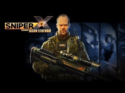 Sniper X Featuring Jason Statham (by Glu Games Inc.) - iOS/Android - HD Gameplay Trailer