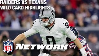 Raiders vs. Texans Wild Card Game Highlights with Deion Sanders & LT | NFL Network | GameDay Prime
