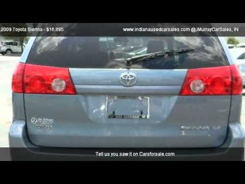 2009 toyota sienna le minivan 4d for sale in lafayette in 47905 youtube. Black Bedroom Furniture Sets. Home Design Ideas