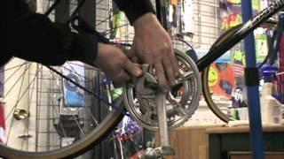 Crank Nut Removal - Bike Repair - BikemanforU Episode Video