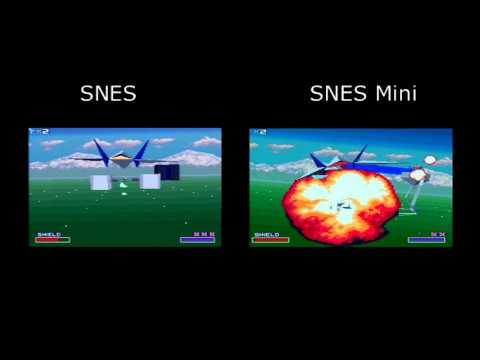 Snes Vs Model 2 1997 Snes Mini Fx Chip Compairisons