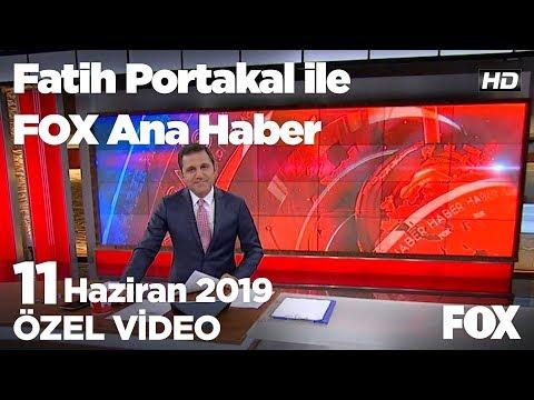 """Cumhur İttifakında """"Kürdistan"""" çatlağı… 11 Haziran 2019 Fatih Portakal ile FOX Ana Haber"""