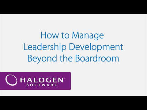 How to Manage Leadership Development Beyond the Boardroom – Webinar