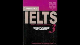 Скачать IELTS 3 Listening Test 1 With Answer