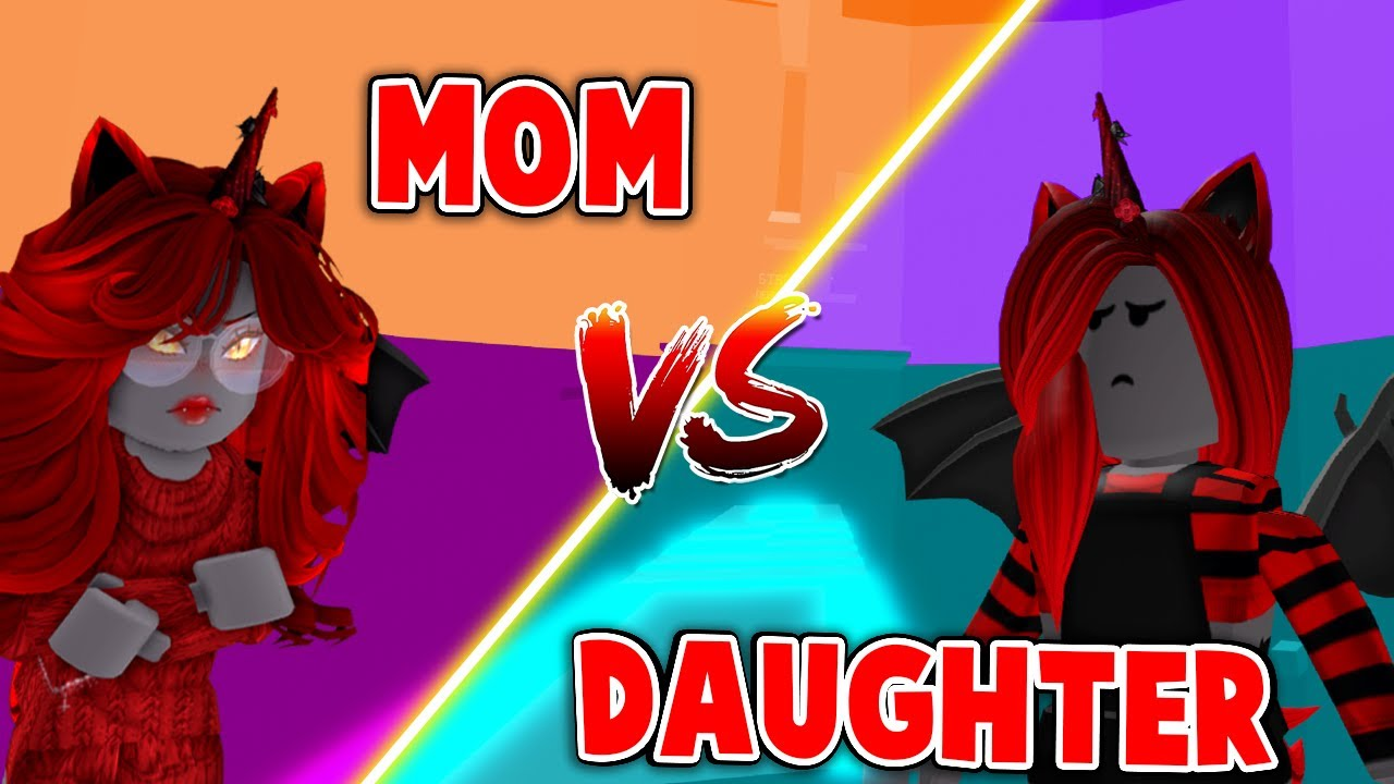 MOM Vs DAUGHTER In Tower Of Hell! (Roblox)