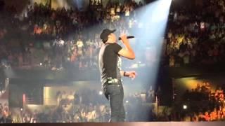 Repeat youtube video Luke Bryan- Play It Again live in Spokane