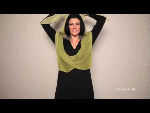 How To Tie A Scarf: EILEEN FISHER Resort 2011