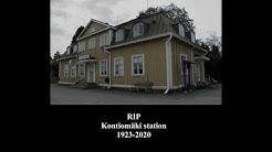 RIP Kontiomäki station