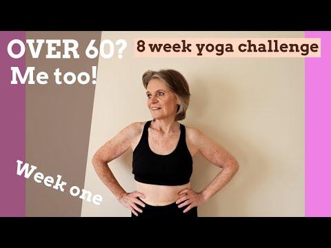 Yoga for Seniors & beginners - over 60?.....Me too!!! 8 week Yoga challenge - week one