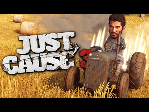 IM A ROCKET MAN - Flying Cars and Jet Gameplay - Just Cause 3 Funny Moments