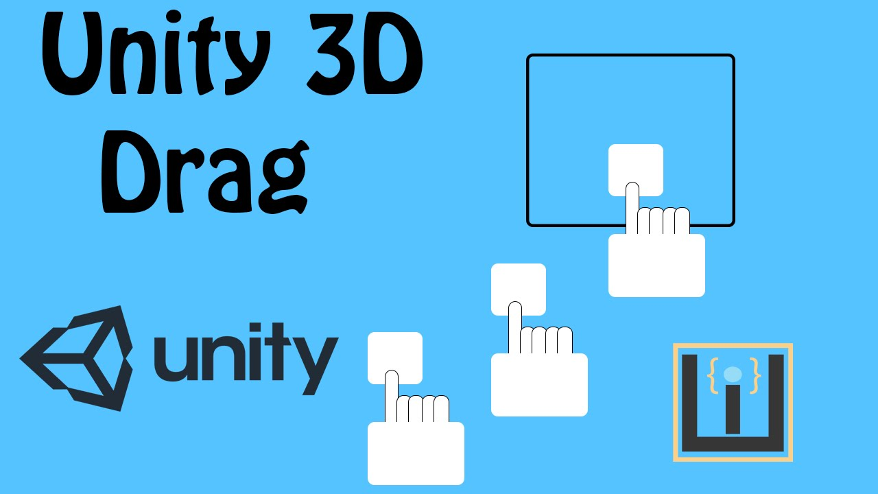 How To Drag 2D/3D Object Unity [Tutorial]