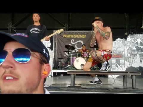 Neck Deep - Where Do We Go When We Go - live - Warped Tour - Charlotte, NC - 7-6-17