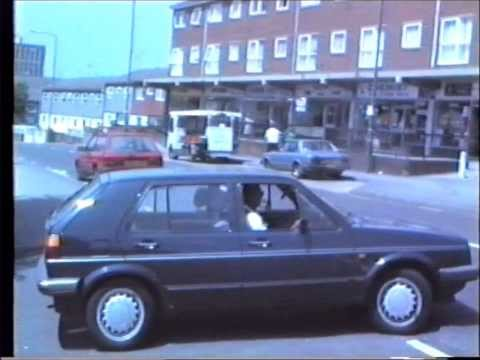 Sneinton in the 1980s - Nottingham History old footage