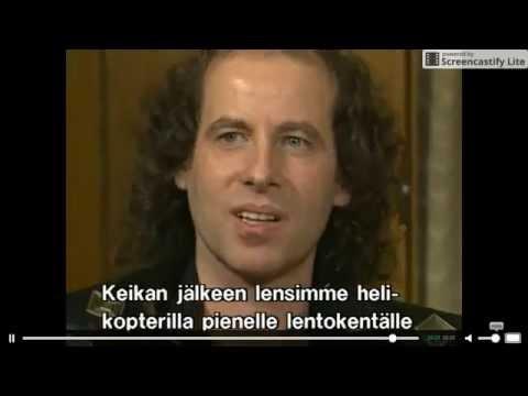 Scorpions - Very Rare Interview (Finnish TV 1989)