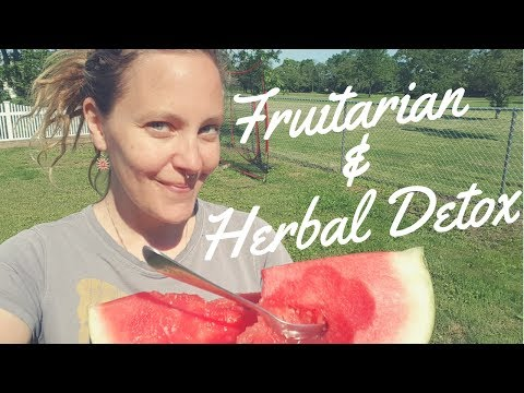 DETOX SYMPTOMS! Fruit & Herbal Detox Week #1