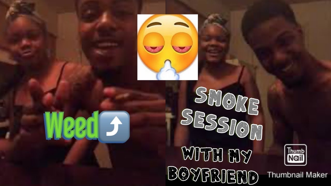 SMOKE SESSION WITH MY BOYFRIEND 🍃 ️ ( CHIT CHAT & MOREEE 🤫