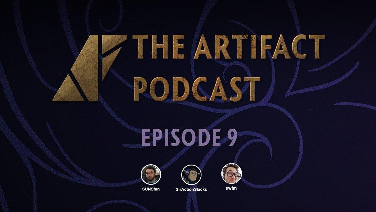 The Artifact Podcast Ep  9 - SirActionSlacks, swim & SUNSfan