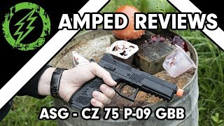 Amped Review - ASG CZ P-09 Gas Blowback Pistol