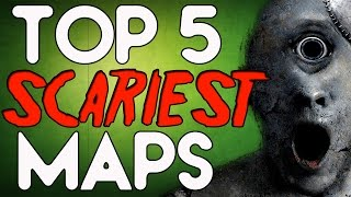 top 5 scariest zombie maps in call of duty zombies black ops 2 zombies bo2 bo1 waw