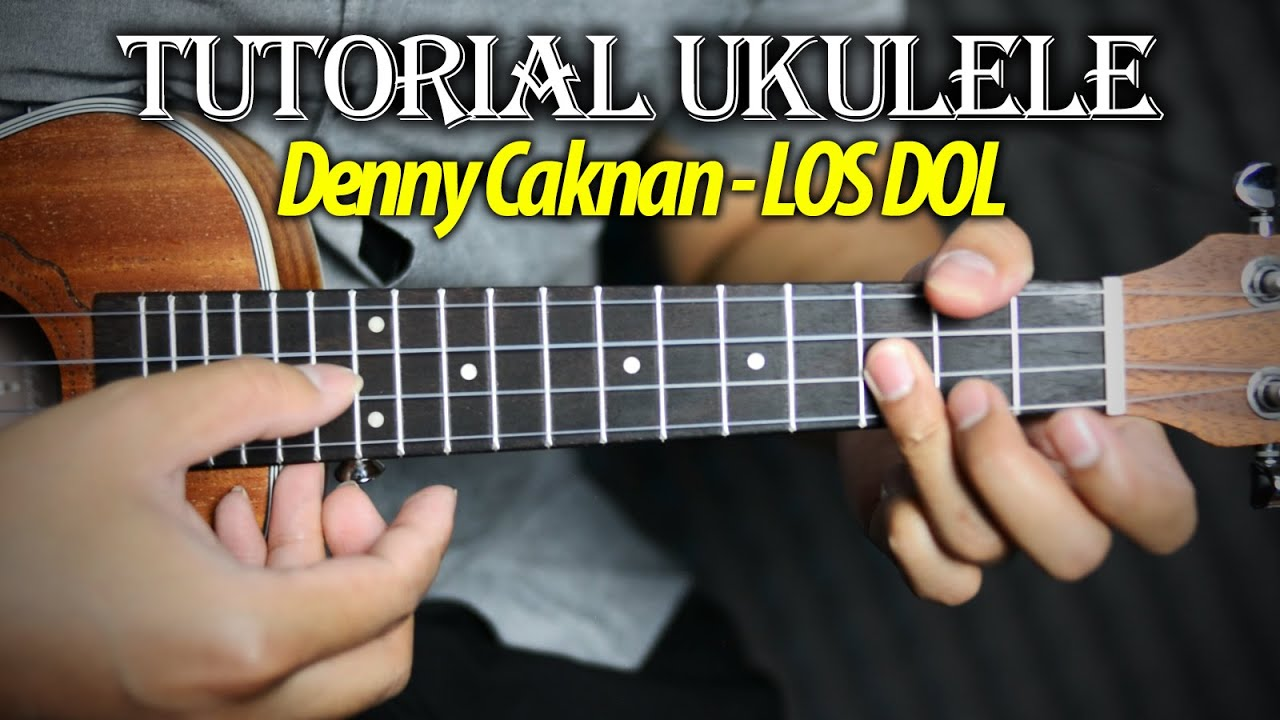tutorial ukulele los dol youtube