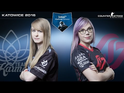 CS:GO - Team Karma vs. CLG Red [Inferno] - Intel Challenge Katowice 2016 - Semifinal Map 1