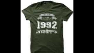 Made in 1992 T Shirts